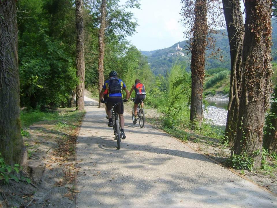 bici e percorso